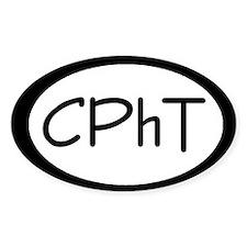 CPhT Oval Decal