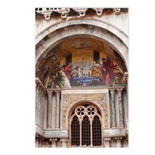 basilica di san marco wit Postcards (Package of 8)