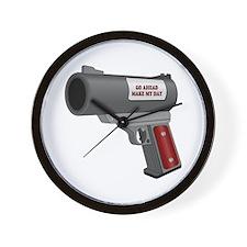 30mm GUN Wall Clock