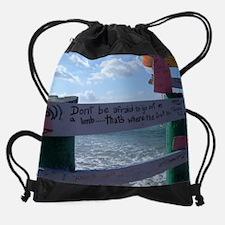 Bvi sailing Drawstring Bag