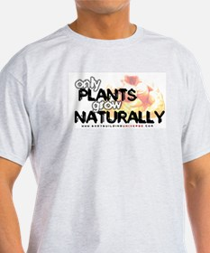 ONLY PLANTS Ash Grey T-Shirt