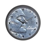 Masonic 'Nickel' Wall Clock