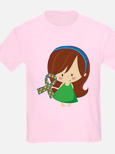 Autism Awareness Girl T-Shirt