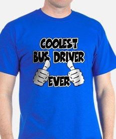 Coolest Bus Driver Ever T-Shirt