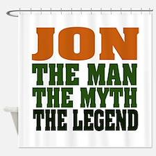 Jon - the Legend Shower Curtain