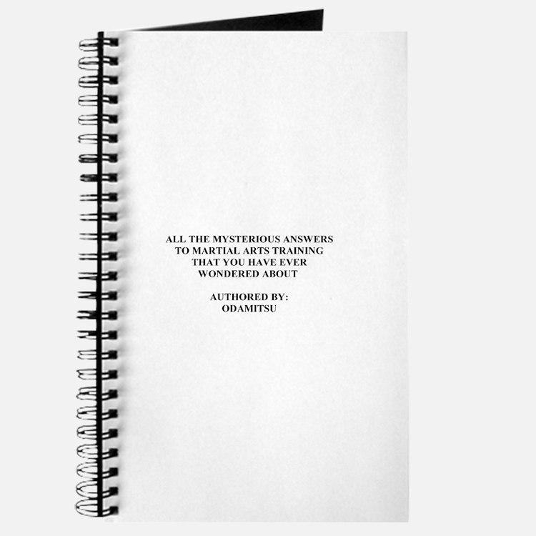 Cute Bujinkan Journal