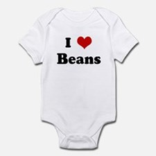I Love Beans Infant Bodysuit