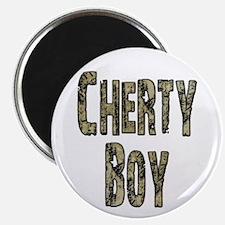 Cherty Boy Shovel Bum Magnet