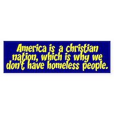 AMERICA... Bumper Bumper Sticker