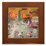 Garden of Alcyone  Framed Tile