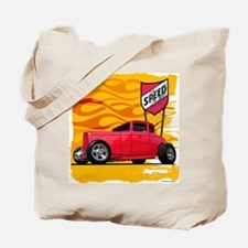 Speed '32 Red Coupe Tote Bag