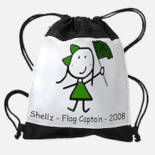 Unique Little lizzy lou Drawstring Bag