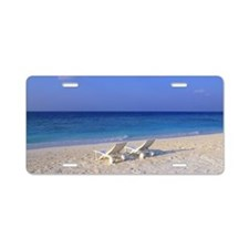 Beach Chair Aluminum License Plate
