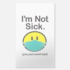 Smell Bad Sticker (Rectangle)