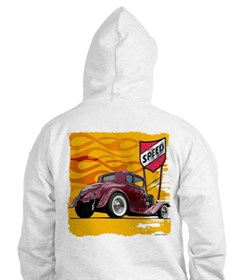 Speed Little Red Coupe Hoodie