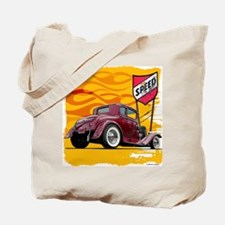 Speed Little Red Coupe Tote Bag