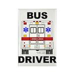 Bus Driver Rectangle Magnet