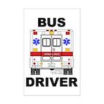Bus Driver Mini Poster Print