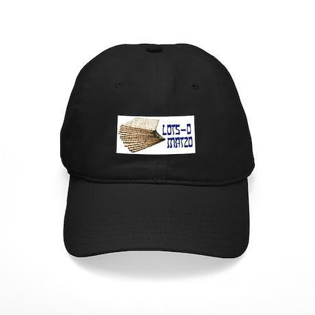 Lots-o Matzo Black Cap