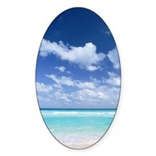 Blue sky and sea Decal