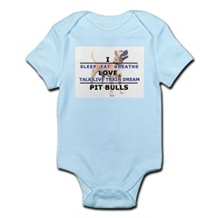 Sleep, Eat, Breathe Infant Bodysuit