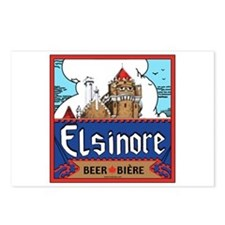 Elsinore Beer Postcards (Package of 8)