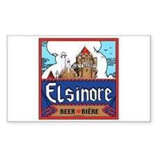 Elsinore Beer Rectangle Decal