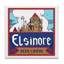 Elsinore Beer Tile Coaster