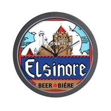 Elsinore Beer Wall Clock