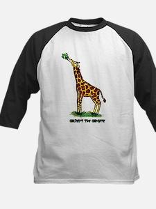 Gilbert the Giraffe Kids Baseball Jersey
