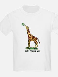 Gilbert the Giraffe Kids T-Shirt