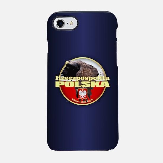 Poland -white tailed eagle iPhone 7 Tough Case
