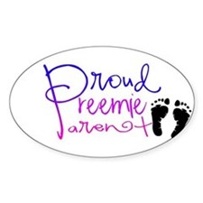 preemie feet Decal
