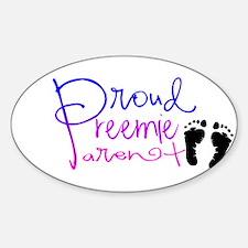 preemie feet Decal