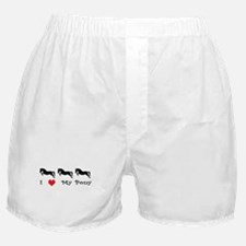 i love my pony Boxer Shorts
