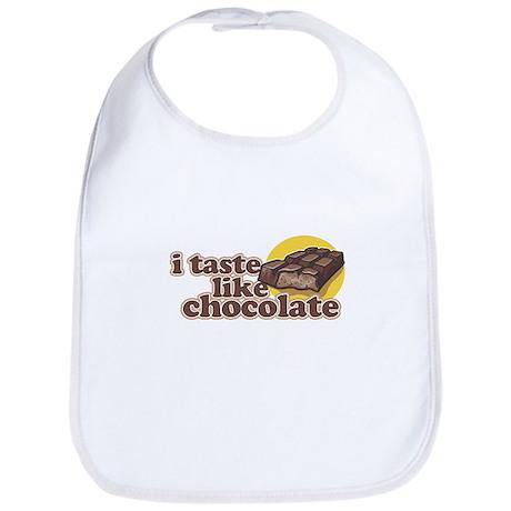 i taste like chocolate Bib