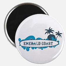 Emerald Coast - Surf Design. Magnet