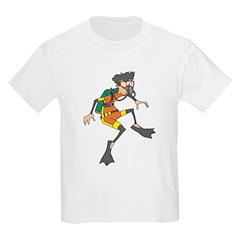 Funny Diver Kids T-Shirt