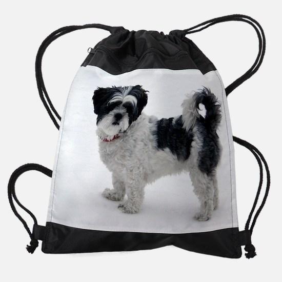 bellecalendar3.png Drawstring Bag