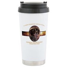 Pointer Dad Travel Mug