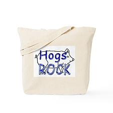 Hogs Rock Tote Bag