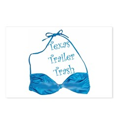 Texas Trailer Trash Postcards (Package of 8)