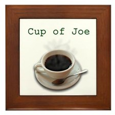 Cup of Joe Framed Tile