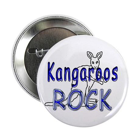 """Kangaroos Rock 2.25"""" Button (100 pack)"""