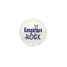 Kangaroos Rock Mini Button (10 pack)