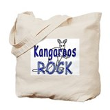 Kangaroo Canvas Totes