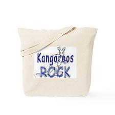 Kangaroos Rock Tote Bag