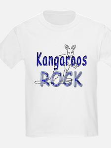 Kangaroos Rock Kids T-Shirt