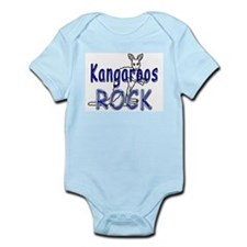 Kangaroos Rock Infant Bodysuit