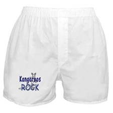 Kangaroos Rock Boxer Shorts